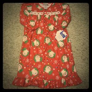 Elf on the shelf nightgown 2t